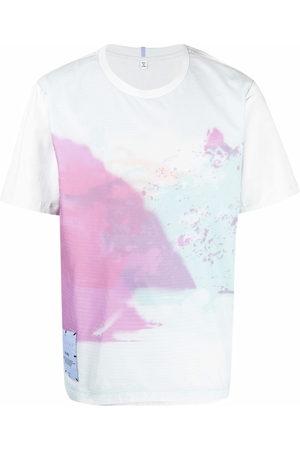 McQ Men Short Sleeve - Abstract-print cotton T-Shirt
