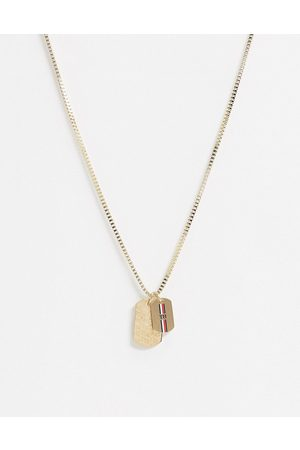 Tommy Hilfiger Neckchain in with double dog tag pendants