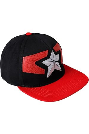 Free Authority Men Black & Red Avengers Embroidered Cap
