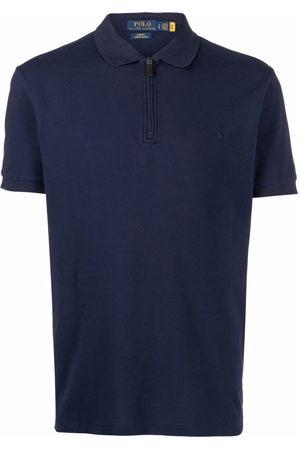 Polo Ralph Lauren Zip-fastening short-sleeved polo shirt
