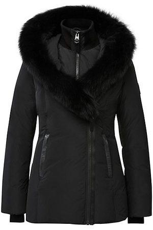 Mackage Adali Silver Fox-Trim Down Coat
