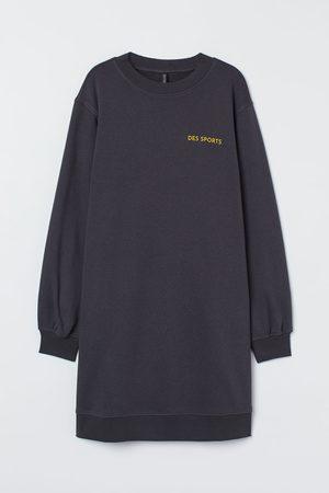 H&M Sweatshirt dress - Grey