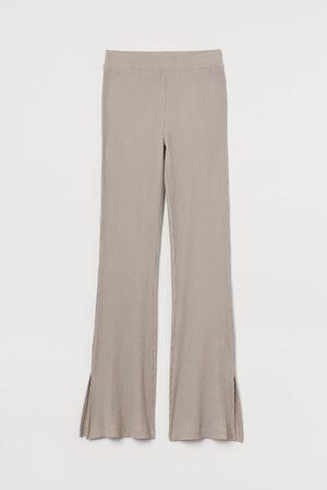 H&M Women Leggings - Ribbed leggings