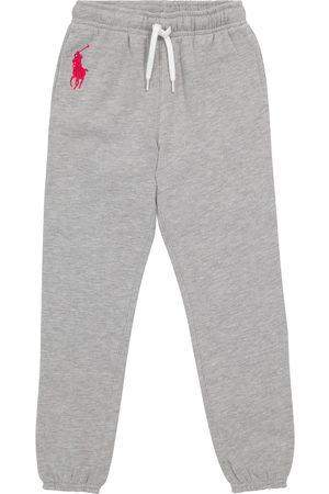 Ralph Lauren Logo cotton-blend sweatpants