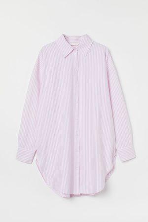 H&M Long Oxford shirt