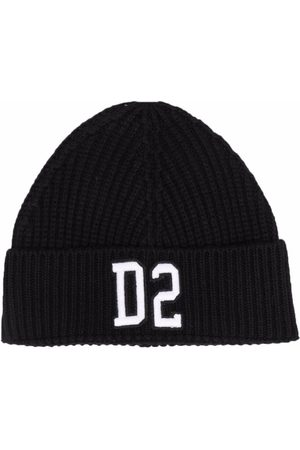 Dsquared2 Kids Embroidered-logo beanie