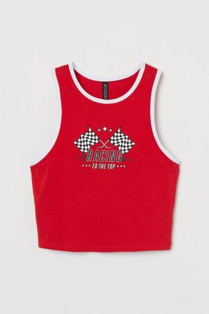 H & M Cropped vest top