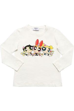 MONNALISA Powerpuff Girls Print Jersey T-shirt