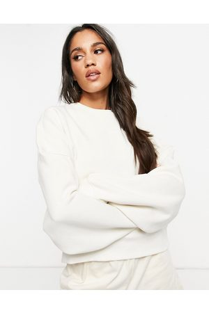 adidas Essentials sweatshirt in oatmeal