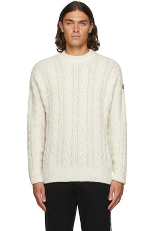 Moncler Off- Cable Knit Sweater