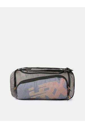 HRX by Hrithik Roshan Kids Grey U17 Duffle Bag Cum Backpack