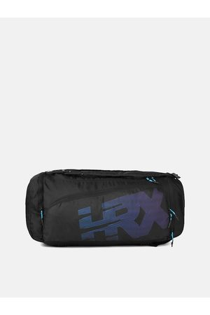 HRX by Hrithik Roshan Kids Black U17 Duffle Bag Cum Backpack
