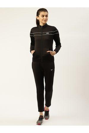 Yuuki Women Black Solid Track Suit