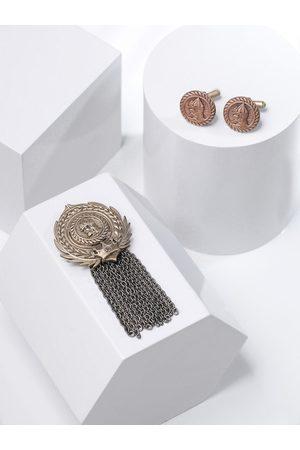 COSA NOSTRAA Men Metallic Accessory Gift Set