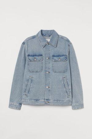 H & M Men Jackets - Twill jacket - Grey