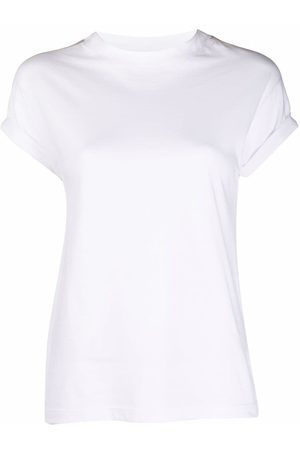 ELEVENTY Women Short Sleeve - Crew-neck fitted T-shirt