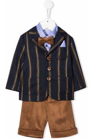 COLORICHIARI Four-piece tailored suit set