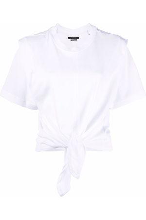 Isabel Marant Ruched short-sleeved T-shirt