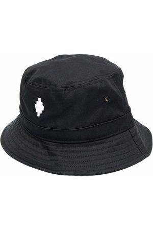 MARCELO BURLON Men Hats - Embroidered cross motif bucket hat