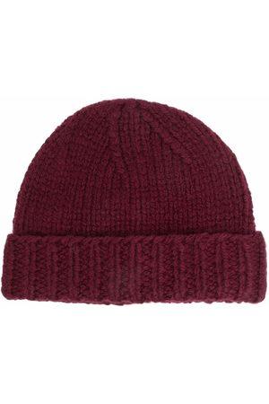 Maison Margiela Ribbed-knit wool beanie
