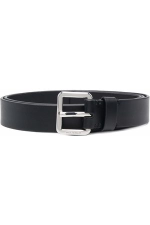 Neil Barrett Logo-buckle belt