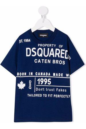 Dsquared2 Kids Logo lettering T-shirt