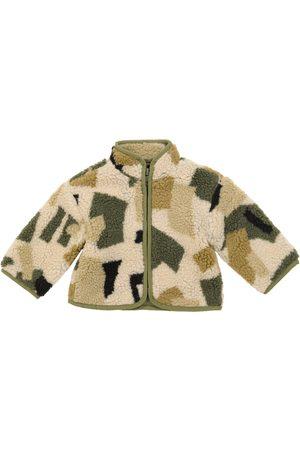 Stella McCartney Baby camo-print fleece jacket