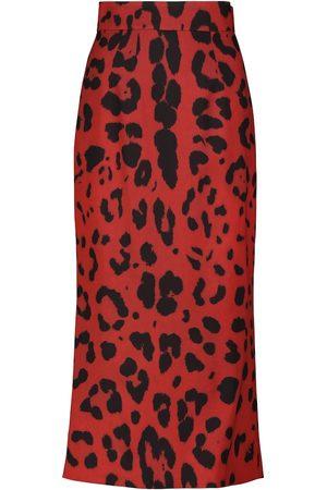Dolce & Gabbana Stretch-silk cady pencil skirt