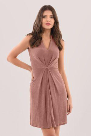 Closet Centre Pleats A-Line Dress