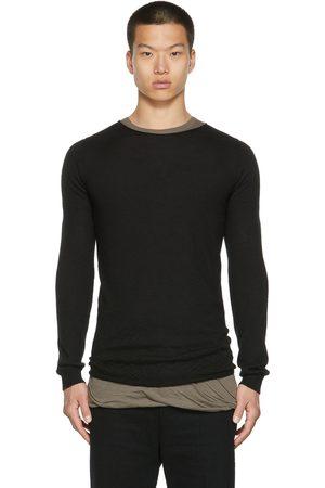 Rick Owens Men Jumpers - Cashmere Crewneck Sweater