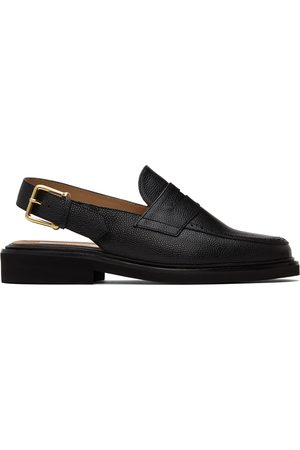 Thom Browne Slingback Micro Sole Penny Loafers