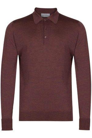JOHN SMEDLEY Dorset Shirt - Copper