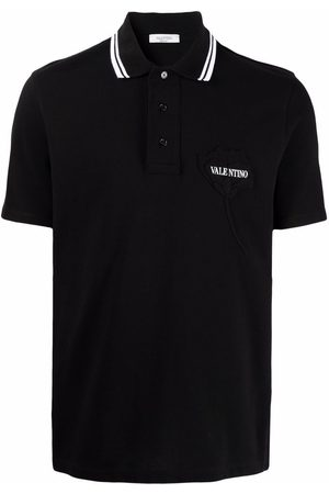 VALENTINO MEN'S WV3MH02F7H40NI OTHER MATERIALS POLO SHIRT