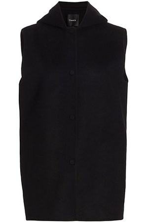 Theory Clairene Wool-Cashmere Vest