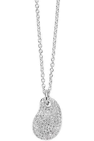 Ippolita Necklaces - Stardust Sterling & Diamond Kidney Bean Pendant Necklace