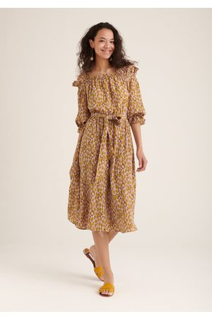 Paisie Floral Bardot Dress