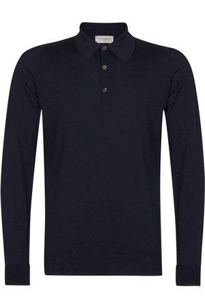JOHN SMEDLEY Dorset Shirt - Midnight