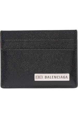 Balenciaga Logo Plaque Card Holder