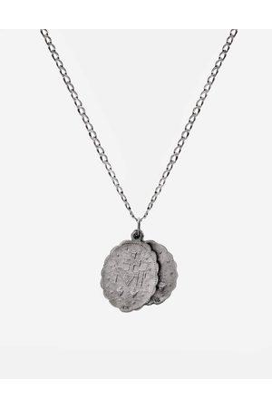 MIANSAI Saints Necklace - Sterling - Oxidized, 24in