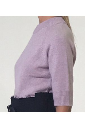 FEDELI Short-sleeve cashmere jumper