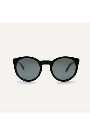 Pala Sunglasses - ASHA Matt Black Sunglasses Made From Recycled Acetate