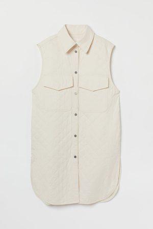 H & M Sleeveless shirt jacket