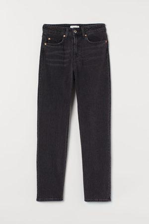 H & M Slim High Ankle Jeans - Grey