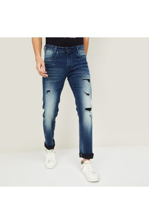 Pepe Jeans Men Washed Skinny Fit Jeans