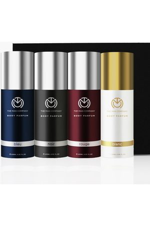 The Man Company Men Fragrances - Multifaceted Non-Gas Body Perfume Combo-Pack of 4