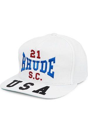 R H U D E Embroidered Logo Snapback