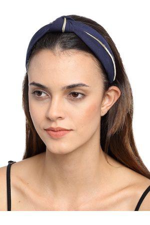 YouBella Blue Lace Hairband