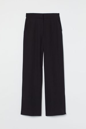 H & M Wide side-slit trousers