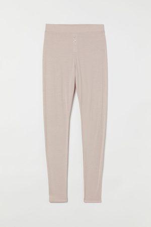 H & M Women Leggings - + Fake-fly leggings