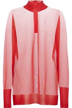 Dolce & Gabbana Women Tops - Sheer knit top